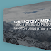 Make a 3D Menu Effect Using HTML , CSS and JavaScript