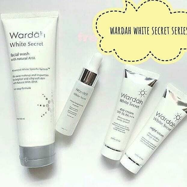Wardah White Secret Night Cream untuk usia 20an
