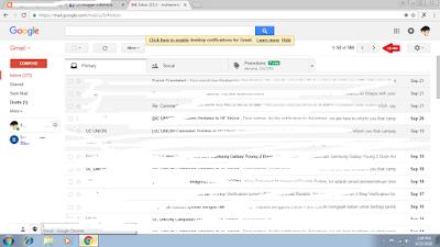 Tutorial Mengetahui Tanggal Pembuatan Email 2