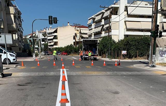 Ναύπλιο: Σύντομα η λειτουργία των φωτεινών σηματοδοτών στην οδό Αγίου Αδριανού