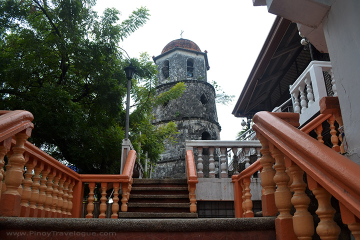 Dumaguete belfry viewed from the cathedral