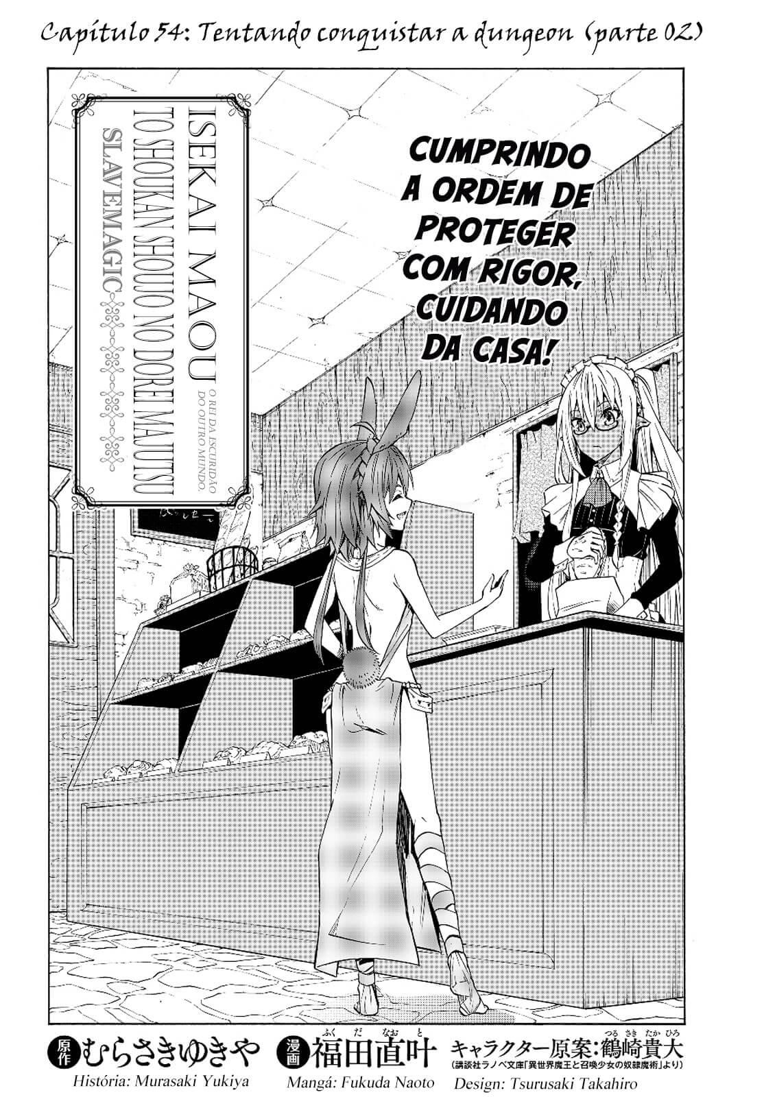 Isekai Maou to Shoukan Shoujo no Dorei Majutsu / How NOT To Summon a Demon Lord Mangá Online Capítulo 54 em Português