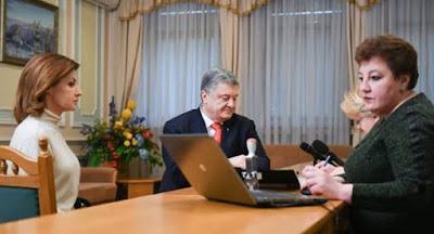 Порошенко подал документы на регистрацию кандидатом в президенты