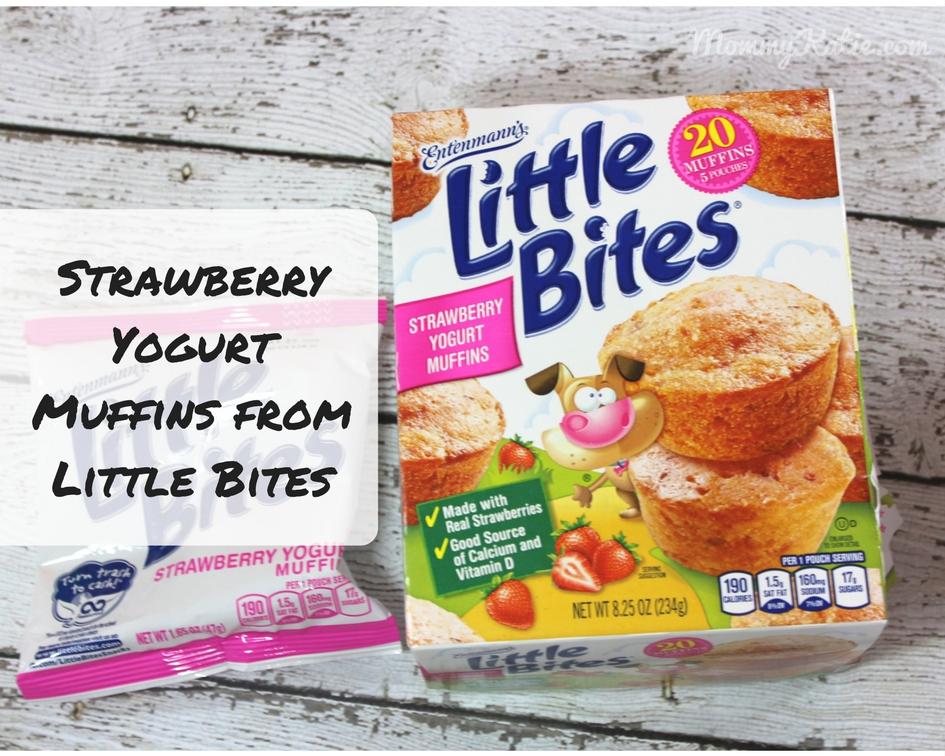 recipe: little bites strawberry yogurt muffins [24]
