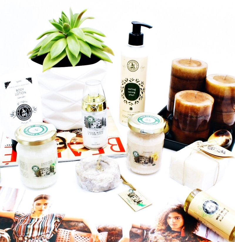 Khan Al Saboun organic natural beauty body products.Prirodni organski proizvodi za negu koze.