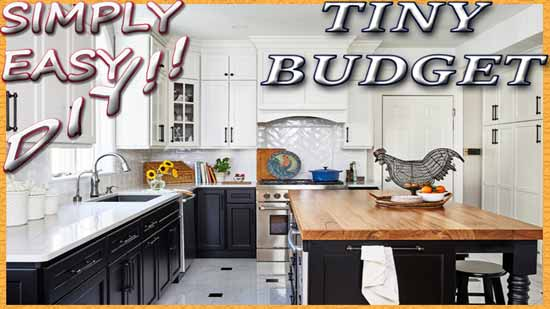 Simply Easy Diy Budget Friendly Kitchen Remodel
