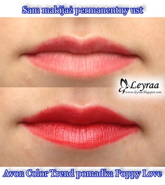Avon Color Trend pomadka Poppy Love