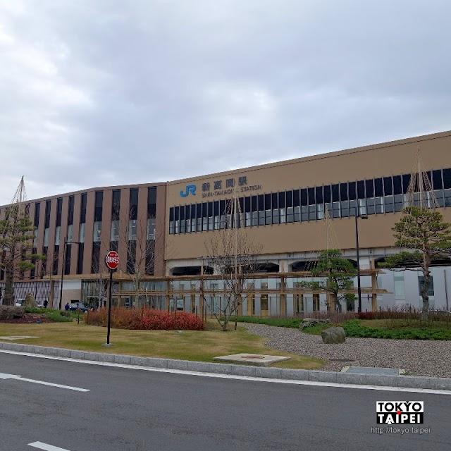 【新高岡駅】搭乘北陸新幹線 通往高岡古城的門戶