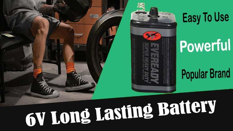 6V Alkaline Batteries- Review #1 Eveready Battery