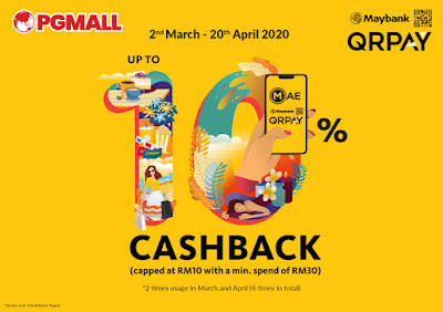 Maybank QRPay, PG Mall, Online Shopping,