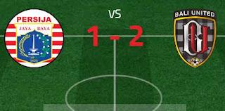 Persija Jakarta vs Bali United Pusam 1-2