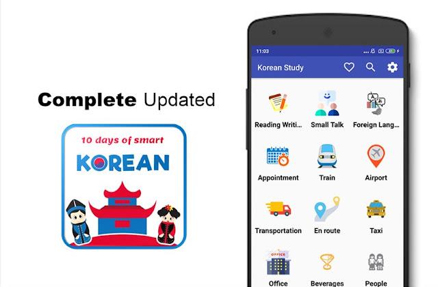 10 Hari Pintar Bahasa Korea