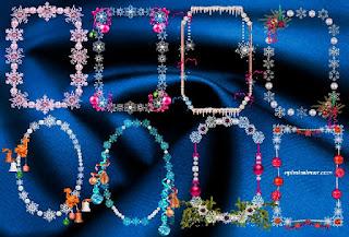 Clipart frames for Christmas photos psd