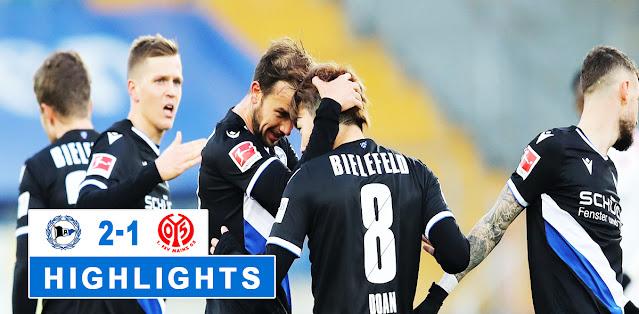 Arminia Bielefeld vs Mainz 05 – Highlights