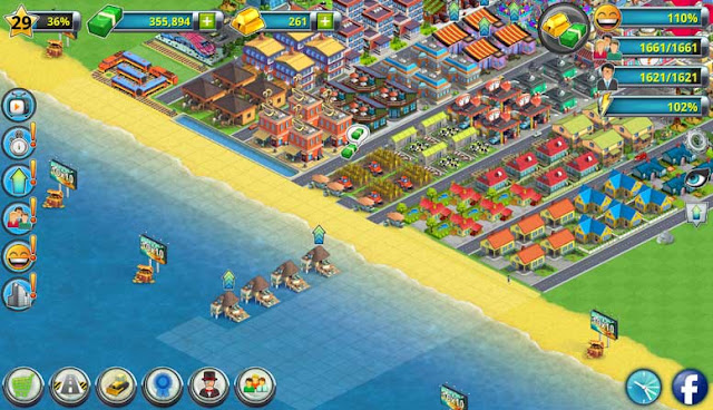 Game City Island 2 - Building Story