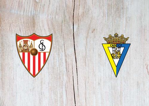 Sevilla vs Cádiz -Highlights 23 January 2021