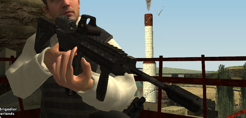 Cod Mw3 M4a1 With Hybrid Sight – HD Wallpapers