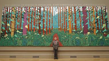David Hockney: paisajes de cuatro estaciones