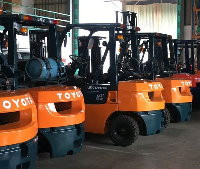 New Toyota Forklifts