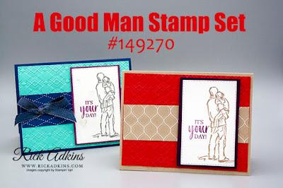 A Good Man Stamp Set, Global Video Hop, Rick Adkins, Stampin' Up!