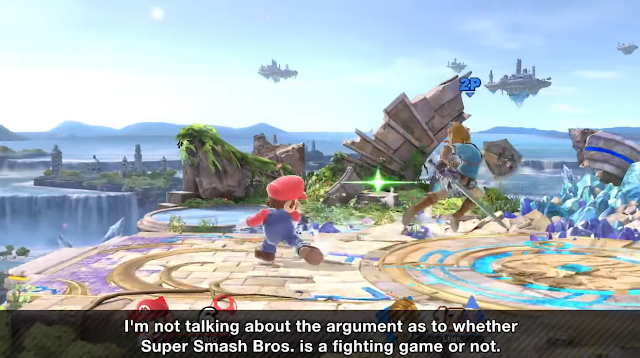 Super Smash Bros. Masahiro Sakurai is a fighting game argument debate
