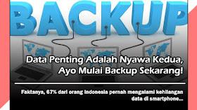 Data Penting Adalah Nyawa Kedua, Ayo Mulai Backup Sekarang!