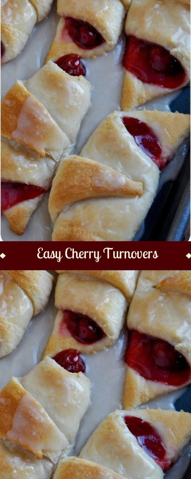 Easy Cherry Turnovers