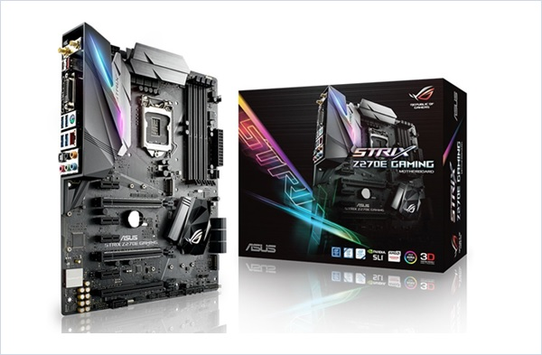 ASUS ROG STRIX Z270E GAMING Motherboard LGA1151 DDR4