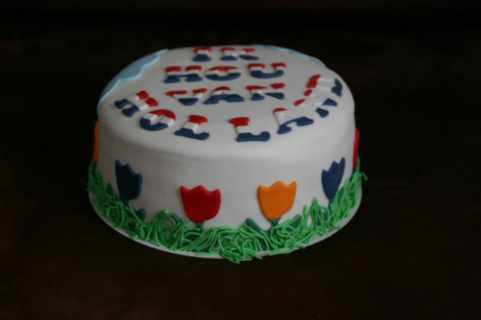 holland taart Tinus' Taarten in de Achterhoek: Ik hou van Holland!!! holland taart