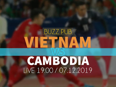 Live Streaming Vietnam vs Cambodia (SEA GAMES) 7.12.2019.