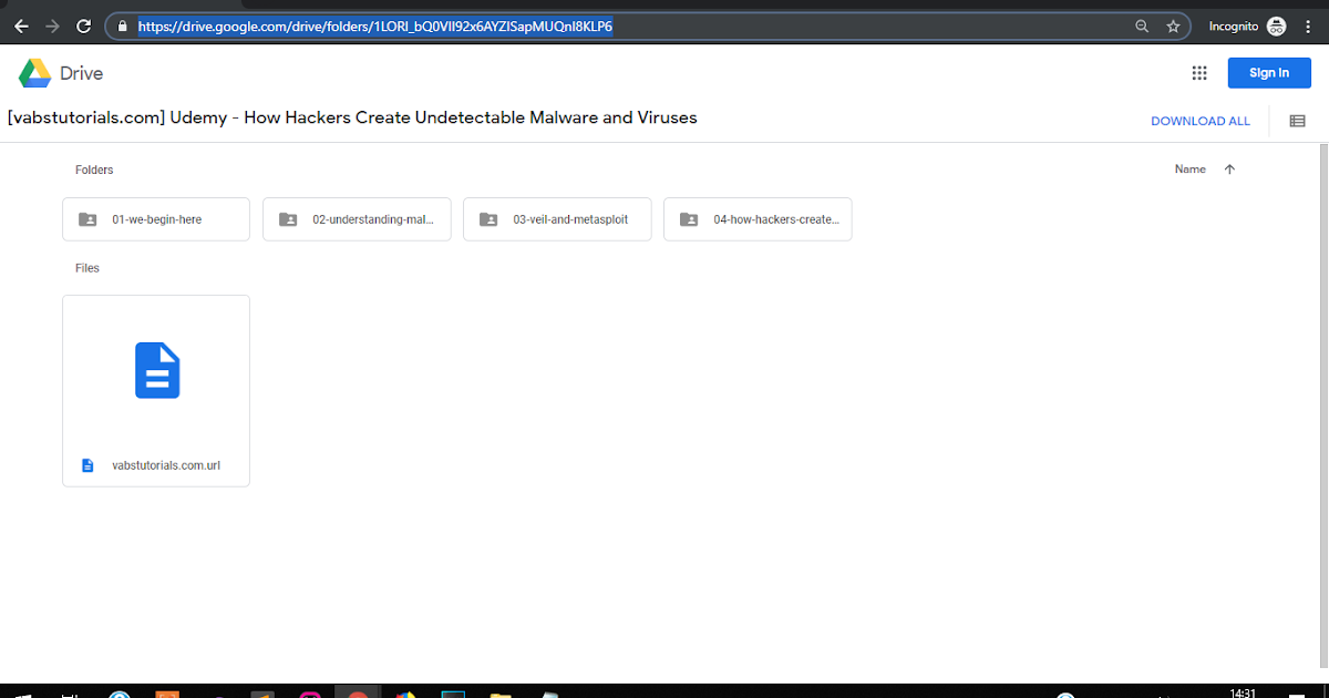 Udemy - How Hackers Create Undetectable Malware and Viruses | Vabs