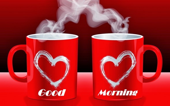 Romantic Love Coffee Good Morning Picture
