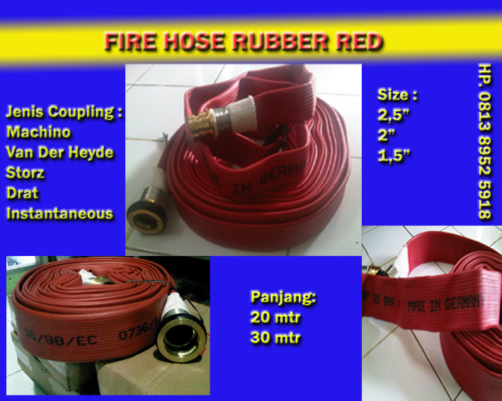 Rubber hose OSW GERMANY FIRE HYDRANT EQUIPMENT