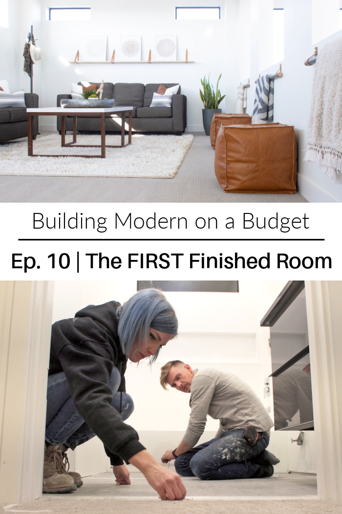 The First Finished Room Ep 10 Building Modern On A Budget Pneumatic Addict