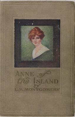 L. M. Montgomery - Anne of the Island -kirjan kansi
