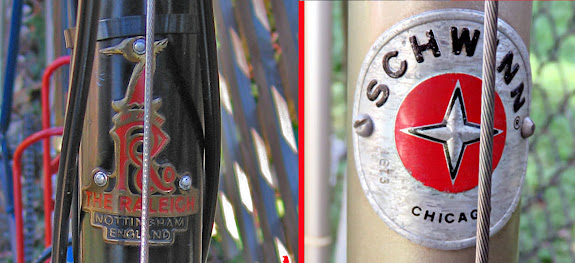 Schwinn and Raleigh Bicycle Badges