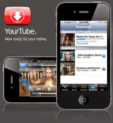 تحميل برنامج يوتيوب فيديو داونلودر للايفون شبيه التيوب ميت برابط مباشر   YouTube VIDEO Downloader for iPhone free