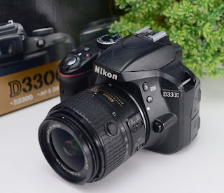 Jual Kamera DSLR Nikon D3300 Bekas
