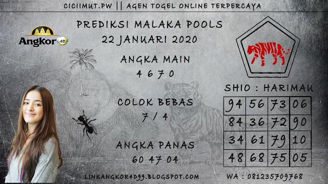 PREDIKSI MALAKA POOLS 22 JANUARI 2020