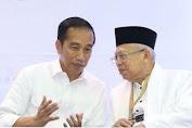 Jokowi dan Maruf Amin Bahas Wacana Reshuffle Kabinet
