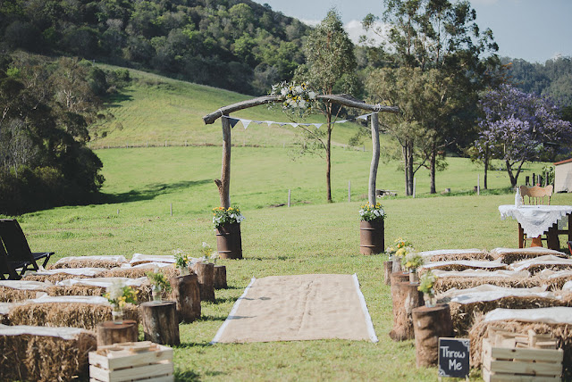 TO THE AISLE AUSTRALIA - SUNSHINE COAST COUNTRY WEDDING
