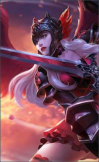 Freya Dark Rose Heroes Fighter of Skins V2