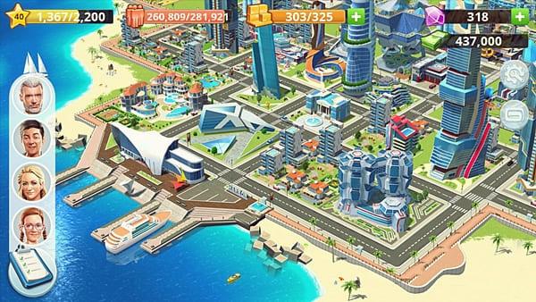 Little Big City 2. Jogo de construir cidade para android e ios