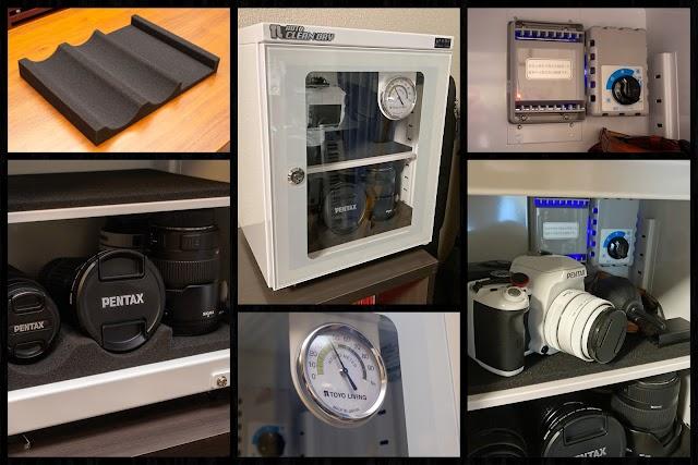 東洋リビング ED-25CAM カメラやマイクの保管に最適な小型防湿庫
