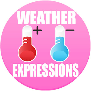 weather in spanish, weather in Spanish, weather expressions, the weather in Spanish, types of weather in Spanish