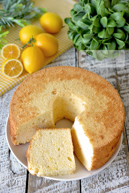 perfect cottony soft lemon chiffon cake