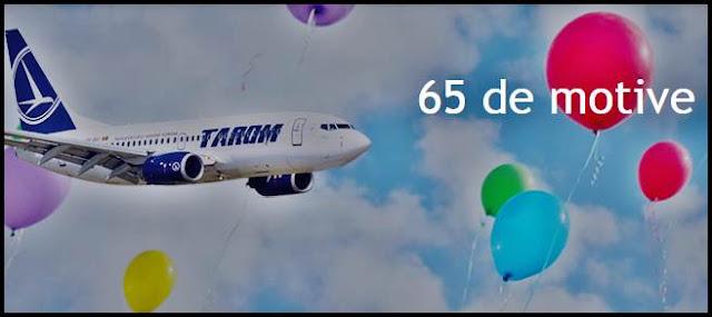 promotie bilete de avion ieftine dus intors tarom 65 de ani