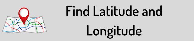 Latitude and Longitude Finder
