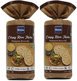 HAIM Organic Crispy Rice Thicks Wholegrain Brown Rice Cake