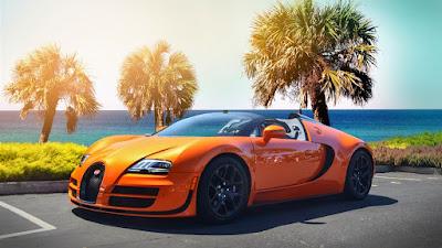 Bugatti Veyron orange image